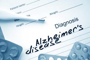 diagnosis Alzheimer's disease
